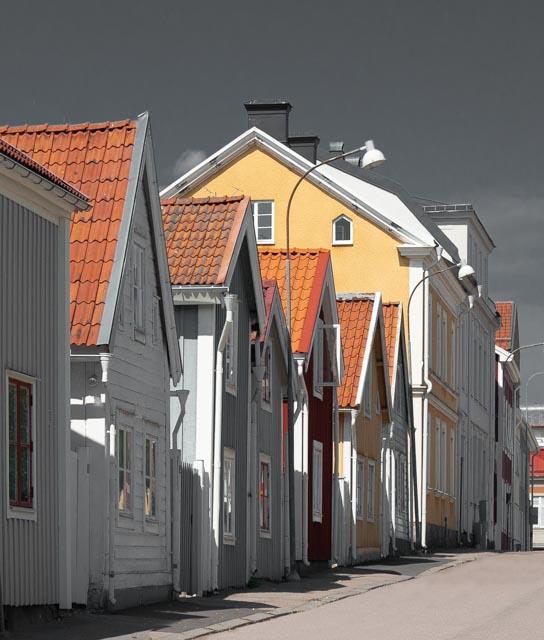 oud straatje Nyköping